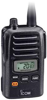 《IC-4810》(アイコム/特定小電力トランシーバー)大音量なのに省電力◇防水・堅牢性に優れた免許・資格不要の高機能トランシーバー!