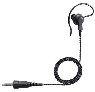 フックと耳栓で安定した装着感のシンプルタイプ 対応機種:IC-4300 IC-4350 他 《SP-16PIBW》 予約販売品 アイコム 耳掛け型イヤホン 特定小電力無線機 黒 IC-4300L 期間限定今なら送料無料 ロングケーブル IC-4350L用 4極スクリュープラグ 小型トランシーバーIC-4300