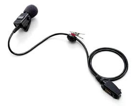 【送料無料】《HM-109》(アイコム/接話タイピン型マイクロホン)接続型タイピンマイク 業務用簡易無線機・特定小電力無線機・トランシーバー 用