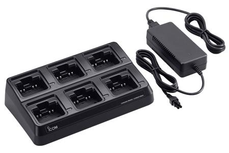 【送料無料】《BC-211》(アイコム/6連急速充電器)6台まで一度に充電!(ACアダプター付属)