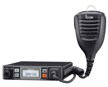 【送料無料】《IC-DPR100》(アイコム/業務用簡易無線車載機)資格不要のハイパワートランシーバー デジタル登録局簡易無線車載機!