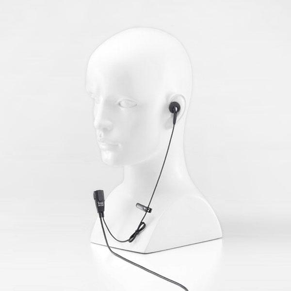 作業しながらラクラク通話 付けていることを感じさせない軽量小型 毎日がバーゲンセール 対応機種:IC-4088 《HM-166》 アウトレット アイコム タイピン付き小型イヤホンマイク 特定小電力無線機 用 IC-4088