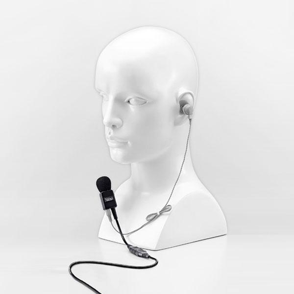 【送料無料】《EH-15,HM-104,OPC-661》(アイコム/タイピン付きイヤホンマイクセットC)特定小電力無線機IC-4855/IC-4880/IC-5010 用