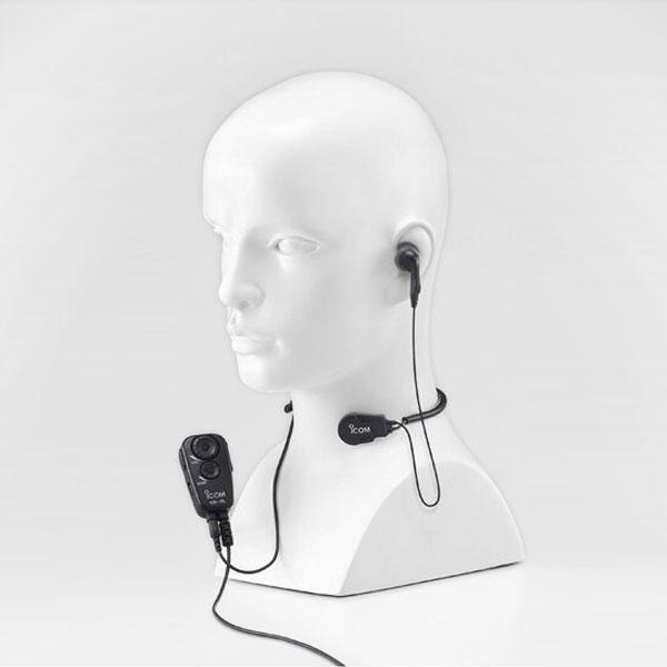 作業しながらラクラク通話 喉の振動を声にする騒音環境に 対応機種:IC-4100 IC-4110 IC-4110D IC-4100D 《HS-97+VS-2L》 アイコム 特定小電力無線機 用 IC-4100 日本正規品 手を使わずに通話できるVOX対応スイッチユニット 付き 咽喉マイク OUTLET SALE VS-2L