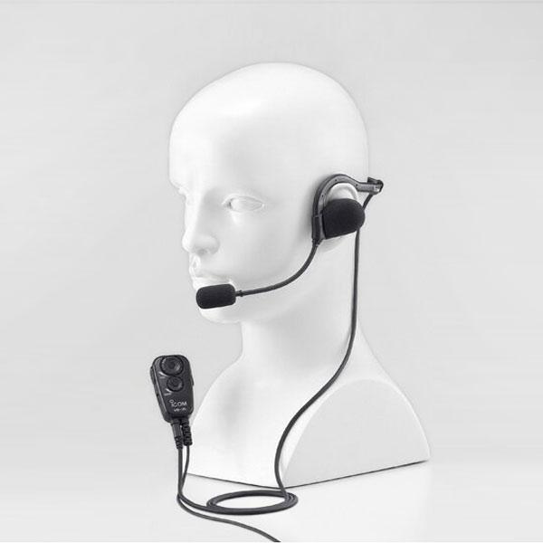 【送料無料】《HS-95+VS-2L》(アイコム/ネックアーム型ヘッドセット)手を使わずに通話できるVOX対応スイッチユニット(VS-2L)付き 特定小電力無線機 IC-4100 / IC-4110 用