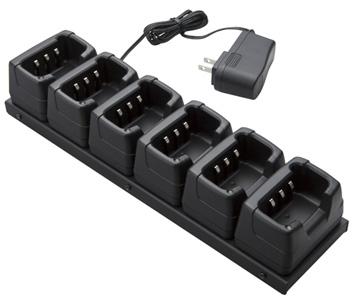【送料無料】《JCPCN0004》(モトローラ・スタンダード/6連式充電器 ACアダプタ付き)特定小電力無線機 MS80 / FTH-80 用