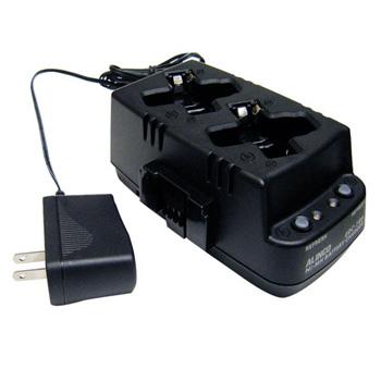 ついに再販開始 EBP-179用 ニッケル水素バッテリー専用 対応機種:DJ-PX31 DJ-TX31 DJ-RX31 《EDC-186A》 ツイン充電器セット DJ-RX31用 オリジナル アルインコ ACアダプター付き DJ-PX31 特定小電力無線機