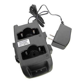《EDC-179A》(アルインコ/ツイン充電器セット ACアダプター付き)特定小電力無線機 DJ-P221/DJ-P222用