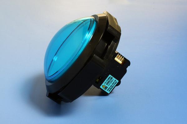 照明的按钮屏幕平圆顶 100 毫米 (簧片开关类型) (没有匝道)