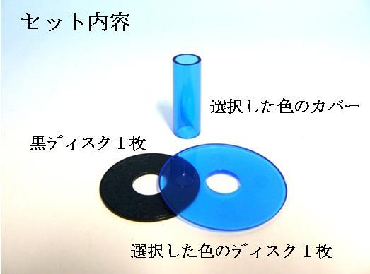 Shaft cover disk set