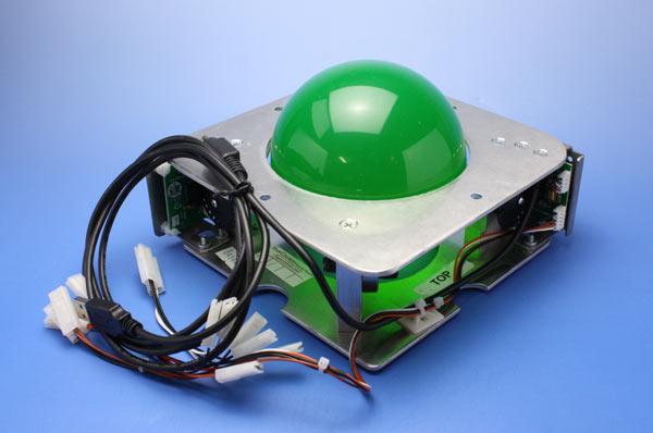 トラックボール4-1/2インチ USB & PS2 I/F付き 【H55-0314】