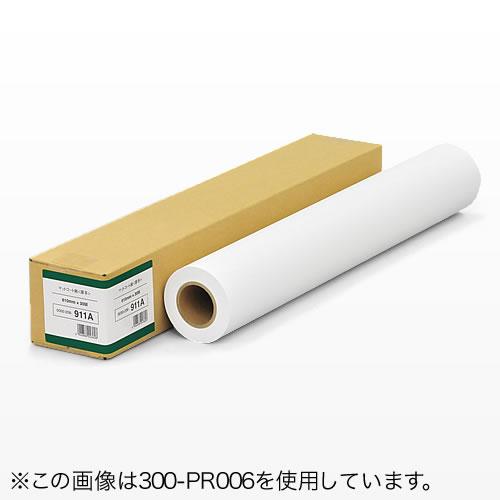 プロッター用紙・ロール紙(厚口マットコート紙・1118mm×30m・44インチロール)[300-PR008]【サンワダイレクト限定品】【送料無料】