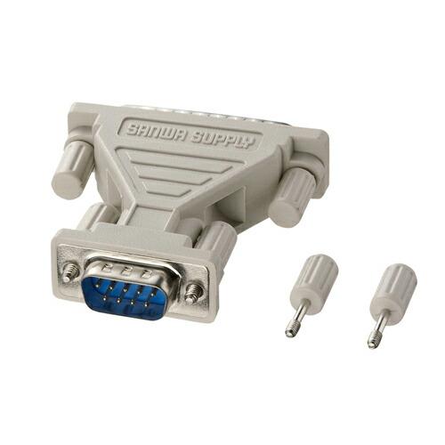 AD09-9M25MK RS-232C変換アダプタ 売り込み 現金特価 D-sub9pinオス-D-sub25pinオス