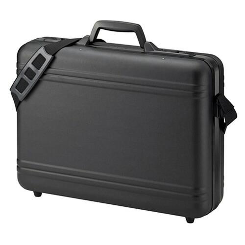 パソコンケース メンズ ABSハード ブラック 17インチワイド ノートPCケース ビジネスバッグ