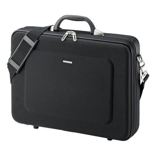 セミハードパソコンケース(15.6型ワイド・シングル・ブラック)[BAG-EVA6BKN]【送料無料】