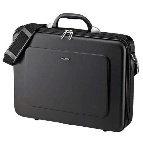 セミハードPCケース メンズ ブラック ビジネスバッグ