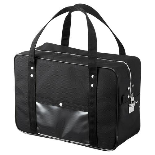 メールボストンバッグ(W400×D180×H290mm・Mサイズ・ブラック)[BAG-MAIL1BK]【送料無料】