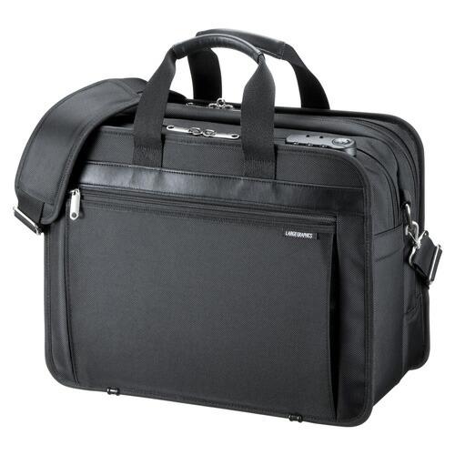 モバイルプリンタ・プロジェクター収納バッグ 15.6インチワイド ブラック [BAG-MPR3BKN]【サンワサプライ】【送料無料】