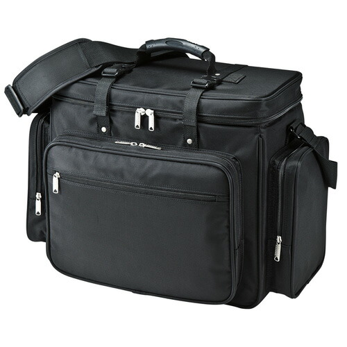 プロジェクターバッグ 15.6インチワイド ブラック[BAG-PRO4]【サンワサプライ】【送料無料】