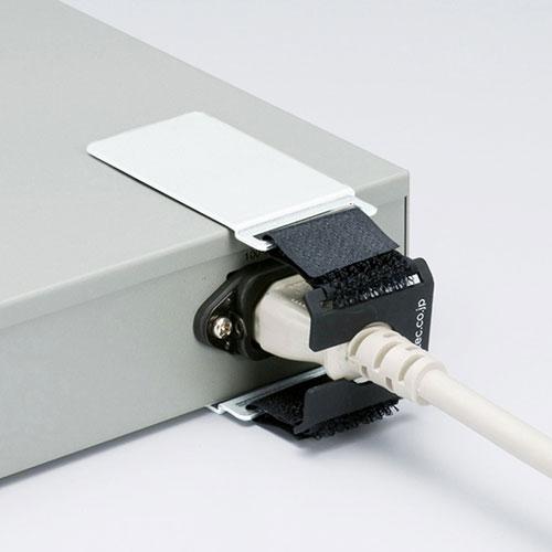 CA-NB006 ネコポス対応 送料無料 ACホールドロック-2 AC電源プラグ対応 面ファスナー取り付け 超特価 2020A/W新作送料無料 抜け防止