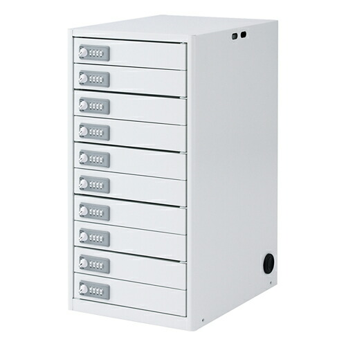 タブレット収納保管庫 10台収納 [CAI-CAB5N]【サンワサプライ】【大物商品】