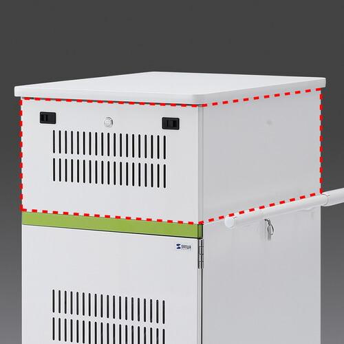 タブレット収納保管庫用 追加収納ボックス 22台収納 [CAI-CABBOX22]【サンワサプライ】【送料無料】