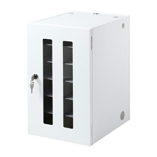 [CAI-CABSP12N]【サンワサプライ】【送料無料】 スマートフォン 小型機器収納保管庫 12台収納