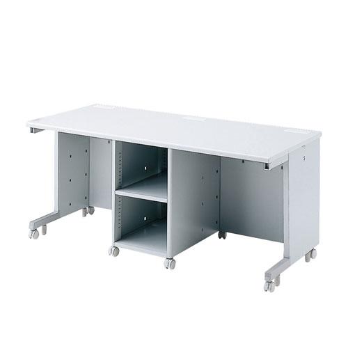 オフィスデスク CAIデスク 教育、教室、学校向けデスク 幅160cm CPUボックス標準装備 [CAI-ST167CP]【サンワサプライ】【大物商品】