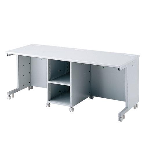 オフィスデスク CAIデスク 教育、教室、学校向けデスク 幅180cm CPUボックス標準装備 [CAI-ST187CP]【サンワサプライ】【大物商品】