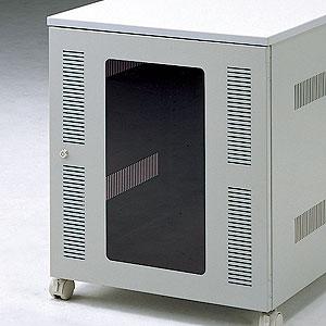 CPUボックス用前扉 鍵付 (サンワサプライ製CP-018N専用オプション) サーバーラック [CP-019N-1]【サンワサプライ】【送料無料】
