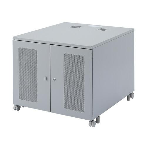 機器収納ボックス(タワー型サーバー3台収納・W800×D900×H700mm )[CP-302]【大物商品】