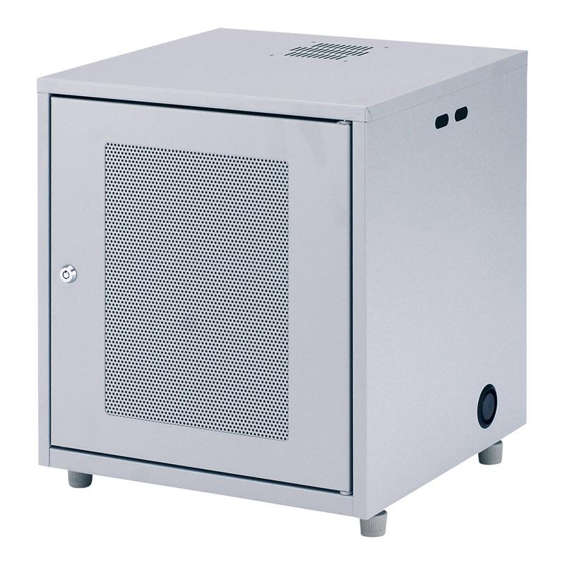 ネットワーク機器収納ボックス 幅450×奥行420×高さ508mm NAS・HDD・ルーター・LANハブなどの収納に