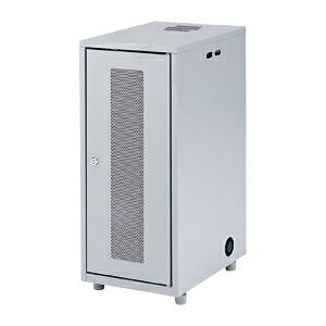 ネットワーク機器収納ボックス 幅300×奥行420×高さ700mm NAS・HDD・ルーター・LANハブなどの収納に