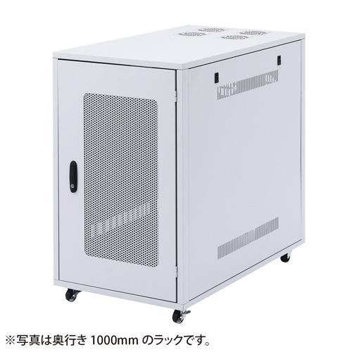 小型19インチサーバーラック 18U D800mm サーバラック[CP-SV7N]【サンワサプライ】【大物商品】
