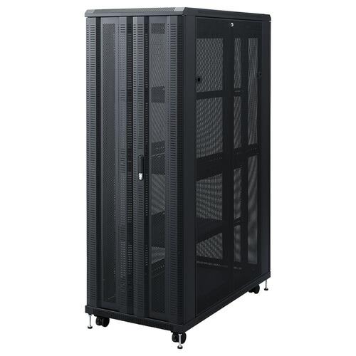 19インチマウントサーバーラック(メッシュパネル・鍵付き・36U)[CP-SVCKAN36U]【サンワダイレクト限定品】【大物商品】