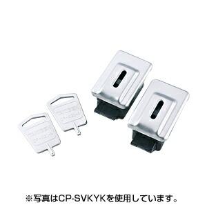 サーバーラック用キーファスナー (サンワサプライ製CP-SV12、CP-SV24シリーズ専用オプション) [CP-SVKY6K]【サンワサプライ】【送料無料】