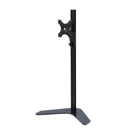 モニタースタンド(置き型・VESA対応・24インチまで・高さ調節155~740mm)[CR-LA1602]【送料無料】