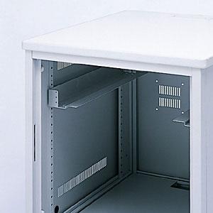 19インチマウントアングル (サンワサプライED-CPシリーズ 奥行き700mm専用オプション)