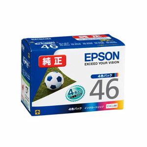 【まとめ割 2個セット】エプソン 純正インク IC4CL46 (4色パック) インクカートリッジ 【EPSON】