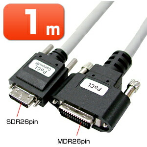 カメラリンクケーブル 1m カメラリンクPoCLケーブル 「Camera Link」インターフェース規格対応 [KB-CAMPO-01]【サンワサプライ】【送料無料】