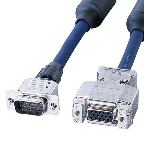 ディスプレイ延長ケーブル(複合同軸・アナログRGB・延長・7m)[KB-CHD157FN]【送料無料】