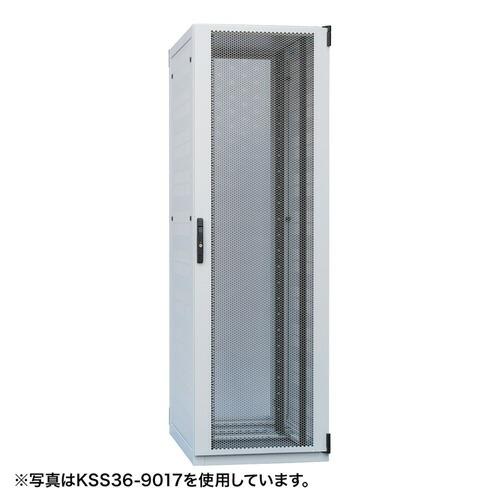 自然換気仕様サーバーラック(42U・W600×D900×H2000mm)[KSS42-9020]【送料無料】