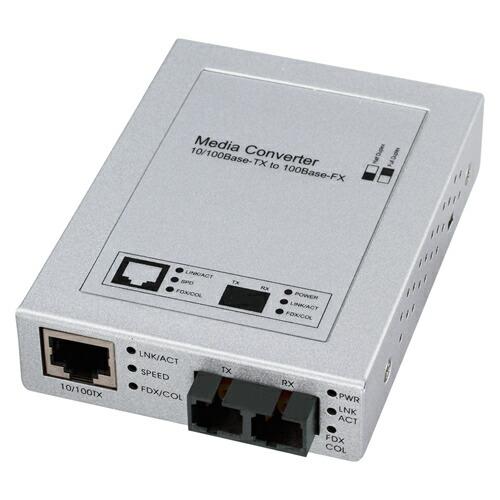光メディアコンバータ(100BASE-TX-100BASE-FX)[LAN-EC202C]【送料無料】