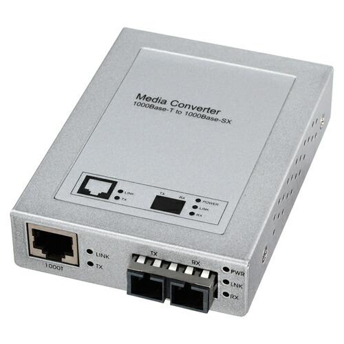 光メディアコンバータ(1000BASE-T-1000BASE-SX/LX)[LAN-EC212C]【送料無料】