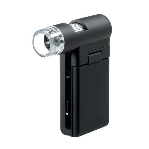 マイクロスコープ(モニター付き・最大300倍・ハンディタイプ)[LPE-05BK]【送料無料】