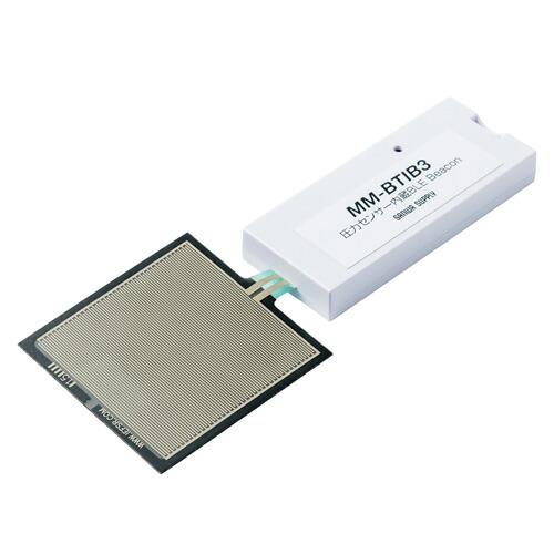 圧力センサー内蔵BLE ビーコン(iBeacon対応・3個セット)[MM-BTIB3]【送料無料】