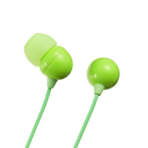 [MM-HP117G] 【サンワサプライ】 ステレオイヤホン(カナル型・グリーン・PS5対応)