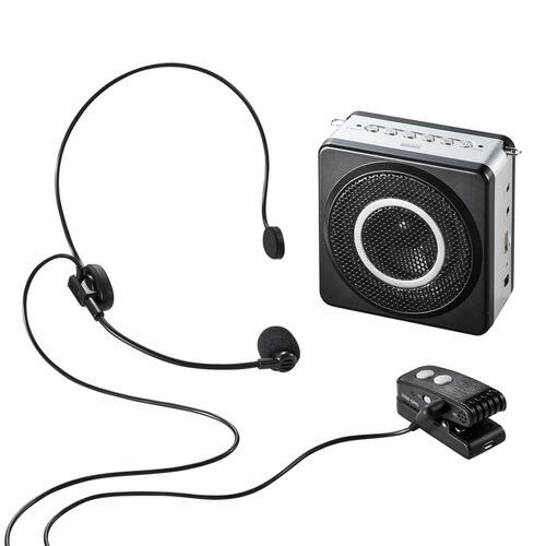 ワイヤレスポータブル拡声器(18W)[MM-SPAMP5]【送料無料】