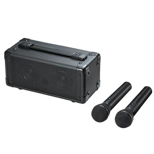 ワイヤレスマイク スピーカー ワイヤレスマイク付き拡声器スピーカー ハンドフリー[MM-SPAMP7]【送料無料】