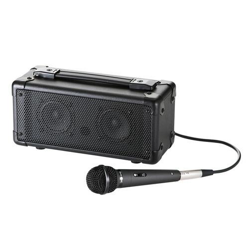 マイク付き拡声器スピーカー(Bluetooth対応)ハンドフリー[MM-SPAMPBT]【サンワダイレクト限定品】【送料無料】